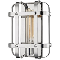 Hudson Valley 6901-PN Colchester 1 Light 9 inch Polished Nickel Wall Sconce Wall Light