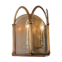 Hudson Valley Lighting Annadale 2 Light Wall Sconce in Distressed Bronze 6902-DB