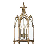 Hudson Valley Lighting Annadale 3 Light Pendant in Distressed Bronze 6910-DB