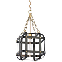 Hudson Valley 6912-AOB Colchester 1 Light 12 inch Aged Old Bronze Pendant Ceiling Light