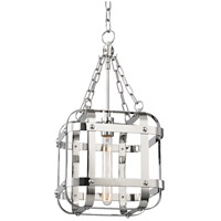 Hudson Valley 6912-PN Colchester 1 Light 12 inch Polished Nickel Pendant Ceiling Light