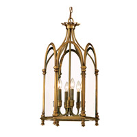 Hudson Valley Lighting Annadale 6 Light Pendant in Distressed Bronze 6914-DB