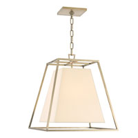 Hudson Valley Lighting Kyle 4 Light Pendant in Aged Brass 6917-AGB
