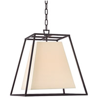Kyle 4 Light 17 inch Old Bronze Pendant Ceiling Light in Eco Paper