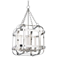 Hudson Valley Colchester 4 Light Pendant in Polished Nickel 6920-PN