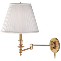 Hudson Valley Lighting Newport 1 Light Wall Sconce in Aged Brass 6921-AGB