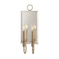 Hudson Valley 6922-AGB Essex 2 Light 7 inch Aged Brass Wall Sconce Wall Light photo thumbnail