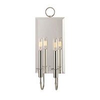 Hudson Valley 6922-PN Essex 2 Light 7 inch Polished Nickel Wall Sconce Wall Light photo thumbnail