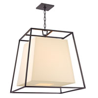 Hudson Valley Lighting Kyle 6 Light Chandelier in Old Bronze with Eco Paper Shade 6924-OB