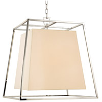 Kyle 6 Light 24 inch Polished Nickel Chandelier Ceiling Light in Eco Paper