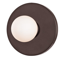 Taft LED Old Bronze ADA Wall Sconce Wall Light, Opal Matte