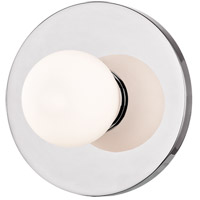 Taft LED Polished Chrome ADA Wall Sconce Wall Light, Opal Matte