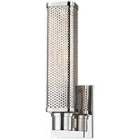 Hudson Valley Gibbs 1 Light Wall Sconce in Polished Nickel 7031-PN