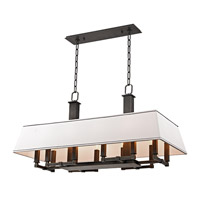 Kingston 12 Light 38 inch Old Bronze Island Ceiling Light