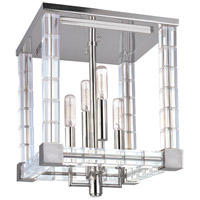 Hudson Valley Lighting Alpine 4 Light Semi Flush in Polished Nickel 7112-PN