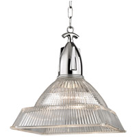 Hudson Valley 7114-PN Langdon 1 Light 14 inch Polished Nickel Pendant Ceiling Light