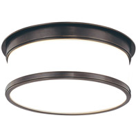 Geneva 2 Light 12 inch Old Bronze Flush Mount Ceiling Light