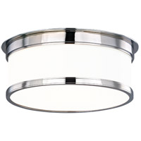Geneva 2 Light 12 inch Polished Chrome Flush Mount Ceiling Light