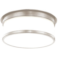 Hudson Valley 712-SN Geneva 2 Light 12 inch Satin Nickel Flush Mount Ceiling Light