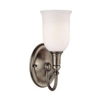 Hudson Valley Lighting Huntington 1 Light Bath And Vanity in Antique Nickel 7141-AN