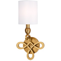 Hudson Valley Lighting Pawling 1 Light Wall Sconce in Aged Brass 7211-AGB