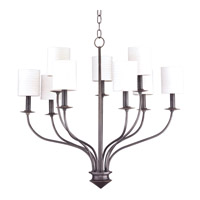Hudson Valley Lighting Sheffield 9 Light Chandelier in Old Bronze 7219-OB