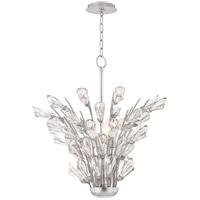 Hudson Valley 7221-SL Tulip 5 Light 21 inch Silver Chandelier Ceiling Light