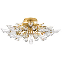 Hudson Valley 7228-GL Tulip 9 Light 28 inch Gold Leaf Chandelier Ceiling Light