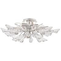 Hudson Valley 7228-SL Tulip 9 Light 28 inch Silver Chandelier Ceiling Light