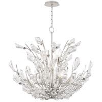 Hudson Valley 7240-SL Tulip 9 Light 40 inch Silver Chandelier Ceiling Light
