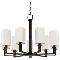 Baldwin 9 Light 36 inch Old Bronze Chandelier Ceiling Light
