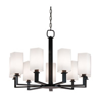 Hudson Valley 729-PN Baldwin 9 Light 36 inch Polished Nickel Chandelier Ceiling Light