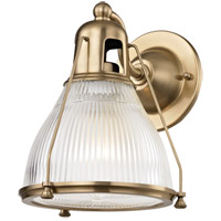 Hudson Valley 7301-AGB Haverhill 1 Light 8 inch Aged Brass Wall Sconce Wall Light