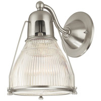 Hudson Valley 7301-SN Haverhill 1 Light 8 inch Satin Nickel Wall Sconce Wall Light photo thumbnail