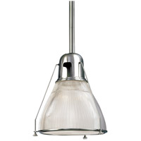 Hudson Valley Lighting Haverhill 1 Light Pendant in Polished Nickel 7308-PN