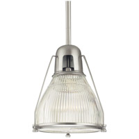 Hudson Valley Lighting Haverhill 1 Light Pendant in Satin Nickel 7311-SN
