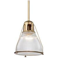 Hudson Valley 7315-AGB Haverhill 1 Light 17 inch Aged Brass Pendant Ceiling Light