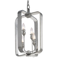 Hudson Valley Lighting Rumsford 4 Light Pendant in Polished Nickel 7412-PN