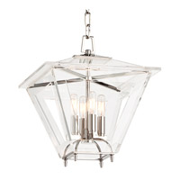 Hudson Valley Lighting Andover 4 Light Pendant in Polished Nickel 7415-PN