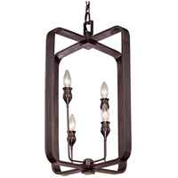 Hudson Valley Lighting Rumsford 4 Light Pendant in Old Bronze 7416-OB