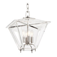 Hudson Valley Lighting Andover 4 Light Pendant in Polished Nickel 7419-PN