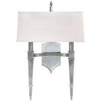 Norwich 2 Light 15 inch Polished Nickel Wall Sconce Wall Light