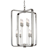 Rumsford 8 Light 20 inch Polished Nickel Chandelier Ceiling Light