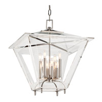 Hudson Valley Lighting Andover 8 Light Pendant in Polished Nickel 7424-PN