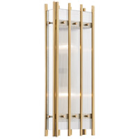 Hudson Valley 7500-AGB Wooster 2 Light 8 inch Aged Brass ADA Wall Sconce Wall Light