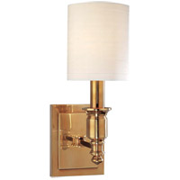 Hudson Valley 7501-AGB Whitney 1 Light 5 inch Aged Brass Wall Sconce Wall Light photo thumbnail