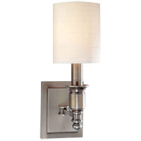 Hudson Valley Lighting Whitney 1 Light Wall Sconce in Antique Nickel 7501-AN