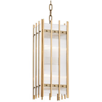 Hudson Valley 7508-AGB Wooster 4 Light 8 inch Aged Brass Pendant Ceiling Light
