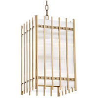 Hudson Valley 7512-AGB Wooster 8 Light 12 inch Aged Brass Pendant Ceiling Light