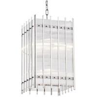 Hudson Valley 7512-PN Wooster 8 Light 12 inch Polished Nickel Pendant Ceiling Light